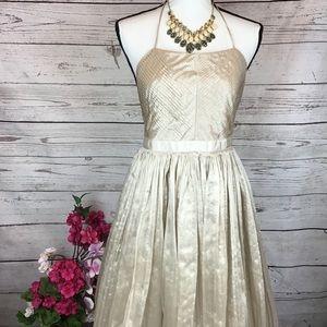 NWT Banana Republic Blush Heritage Halter Dress